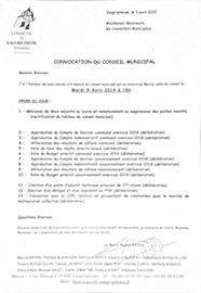 Conseil Municipal Vaugrigneuse
