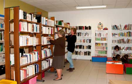 bibliotheque vaugrigneuse