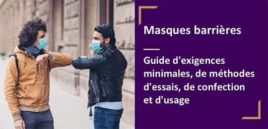 Les masques barrières
